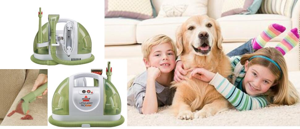 BISSELL Little Green ProHeat Compact Multi-Purpose Carpet Cleaner 14529