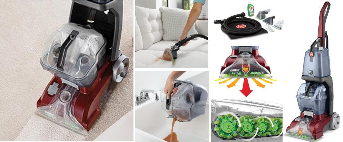 Best home carpet cleaner choosing guide brand model reviews hoover fh50150 carpet basics power scrub deluxe carpet cleaner solutioingenieria Images