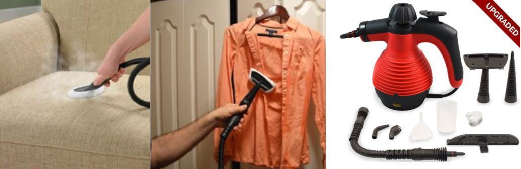 New Version Spill-Proof Multi-Purpose Handheld Steam Cleaner