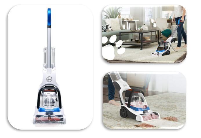 Hoover pet carpet steam cleaner