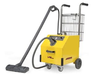 Vapamore industrial steam cleaner with high power and 50 accessories