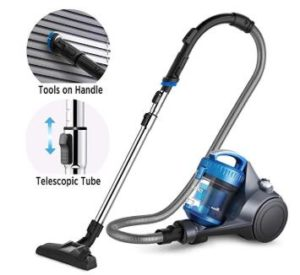 Eureka vacuum cleaner with light weight and cords