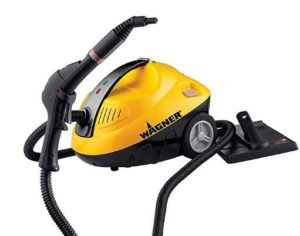 Wagner steam cleaner for cleaning tile wall