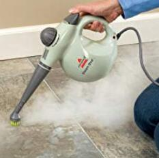 steam grout with brush