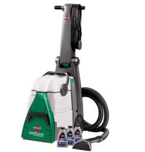 Bissell professional steam cleaner with 2 large tanks for full room clean