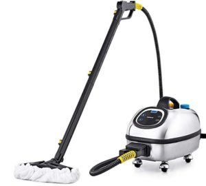Dupray professional steam cleaner with digital control