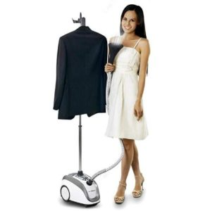 steam cleaner with 4 steaming levels for clothes