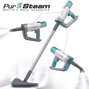 PurSteam home steam mop cleaner with handheld steamer