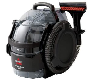 Portable and compact Bisssell professional steam cleaner