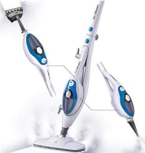electric steam mop with handheld unit