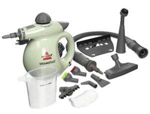 Bissell handheld steamer for shower room