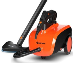 Costway steam cleaner for most floors under 200