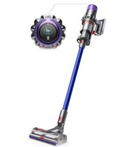 Dyson cordless vacuum cleaner with twice suction than the other cord-free models