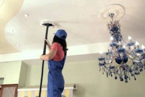 how to steam clean ceilings