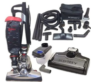 Kirby vacuum cleaner kit for professional clean