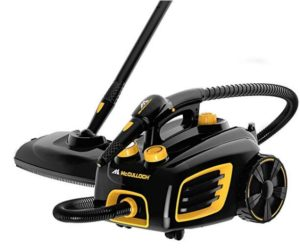 McCulloch steam cleaner for sparkling clean