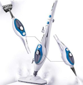 PurSteam steam mop with handheld unit for windows