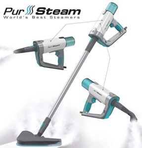 PurSteam 2 in 1 steam mop for floor and upholstery review