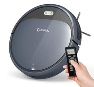 Coredy 1400Pa robot vacuum cleaber under 200