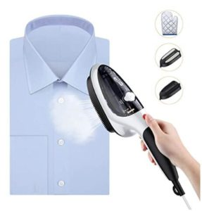 Handhled steamer for clothes and curtains