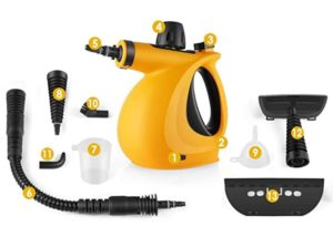 handheld steam cleaner with attachments review