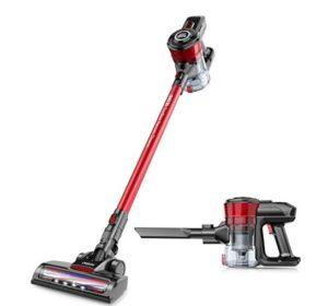 cordless vacuum with handheld vacuum cleaner