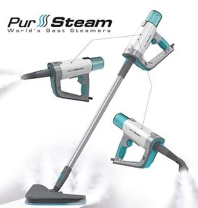 PurSteam home steam mop and steamer for floors and grout