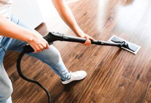 how to steam clean wood floors