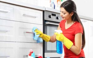 can I steam clean my kitchen cabinets