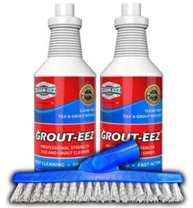 2 pack bathroom grout cleaner with brush
