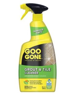 Goo Gone 28 ounce bathroom and shower room grout cleaner