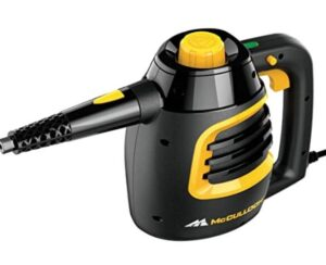 McCulloch hand held steam cleaner for cleaning grout