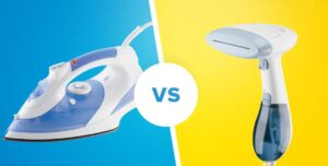 which is better clothes steamer or iron