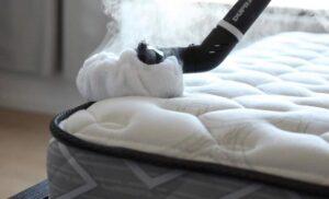 how to steam clean mattress
