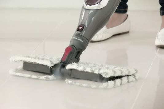 two sides steam mop is good to concrete floors