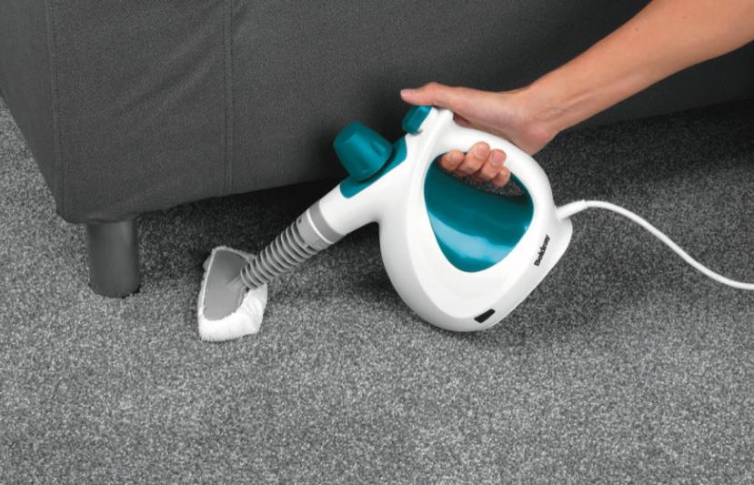 how should I clean my carpet with a small steamer