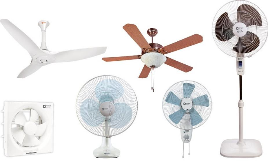 refresh different types of fans