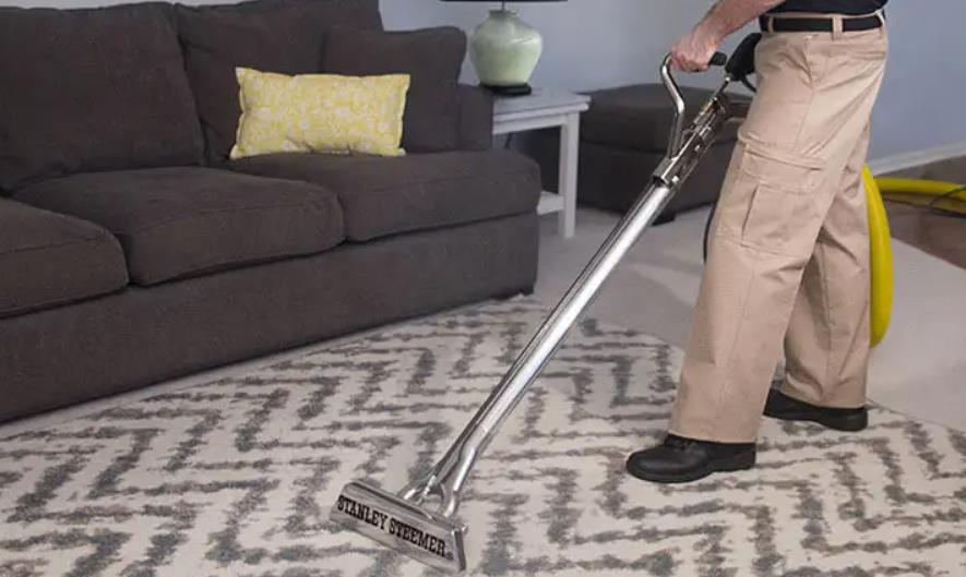 diy steam clean carpet