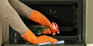 how to turn off steam clean on ge oven