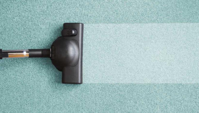 steam clean carpet at home